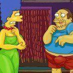 Os Simpsons – Marge no sexo a três - Foto 1