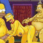 Os Simpsons – Marge no sexo a três - Foto 10