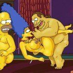 Os Simpsons – Marge no sexo a três - Foto 11