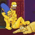 Os Simpsons – Marge no sexo a três - Foto 12