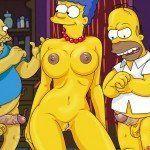 Os Simpsons – Marge no sexo a três - Foto 3