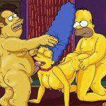 Os Simpsons – Marge no sexo a três