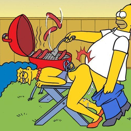 Os Simpsons – Sexo no churrasco