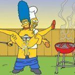 Os Simpsons - Sexo no churrasco - Foto 2