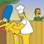 Os Simpsons - Sexo no churrasco - Foto 3