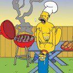 Os Simpsons - Sexo no churrasco - Foto 5