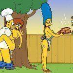 Os Simpsons - Sexo no churrasco - Foto 7