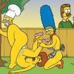 Os Simpsons - Sexo no churrasco - Foto 8