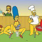 Os Simpsons - Sexo no churrasco - Foto 10