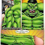 Hulk comendo o cuzinho da Mulher-Maravilha - Foto 7