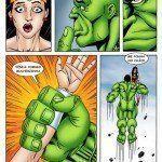 Hulk comendo o cuzinho da Mulher-Maravilha - Foto 8