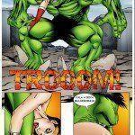 Hulk comendo o cuzinho da Mulher-Maravilha - Foto 10