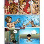 Incesto na piscina com a mãe safada - Foto 11