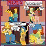 Quadrinho erótico Os Simpsons - Velhos hábitos - Foto 4