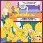 Quadrinho erótico Os Simpsons - Velhos hábitos - Foto 10