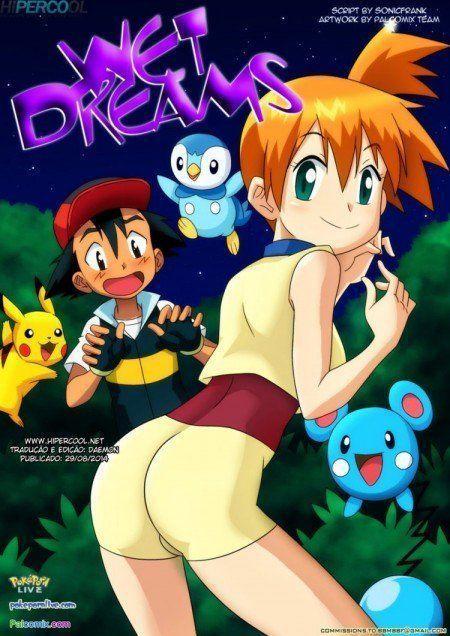 Quadrinhos Eróticos Pokemon XXX Sonhos Molhados