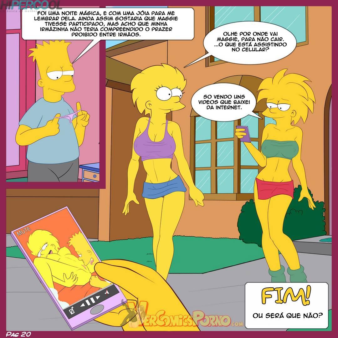 Os Simpsons - Costumes de familia – HQ Hentai - Foto 21