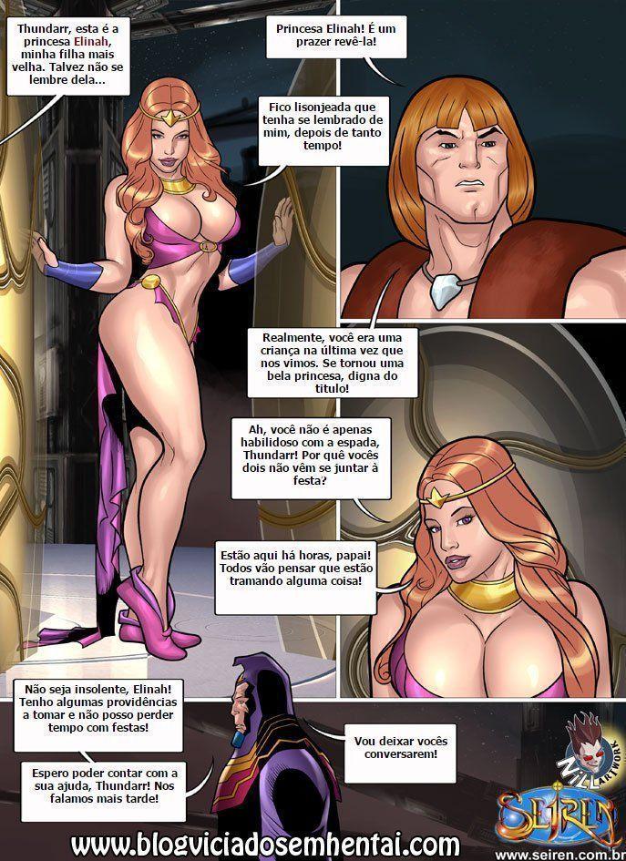 Quadrinhos Eróticos - Thundarr o Bárbaro - Foto 5
