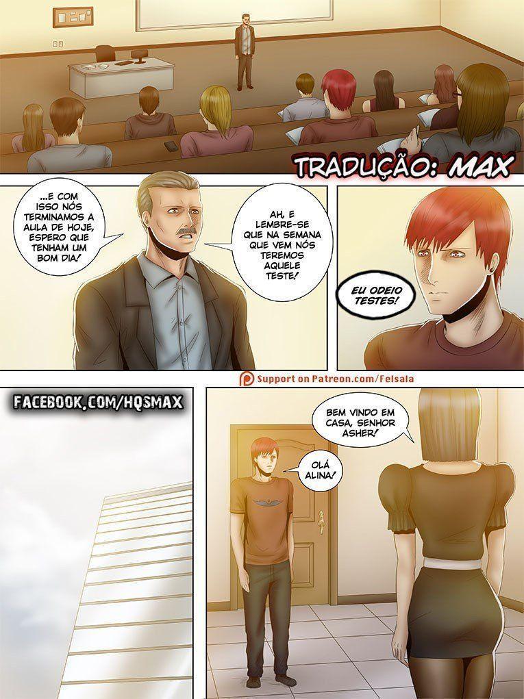 Broken X - A paixão de Asher - Quadrinhos Eróticos - Foto 14