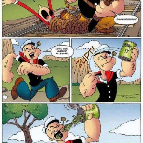 Quadrinhos Eróticos de Popeye o Marinheiro