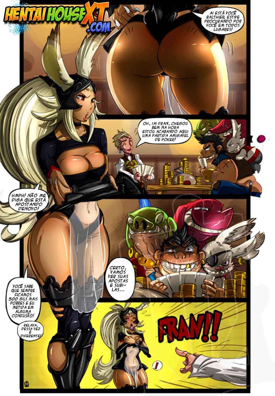 Final Fantasy xxx – Quadrinhos eróticos