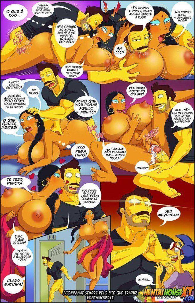 Hentai Simpsons - Putaria em Springfield - Foto 9