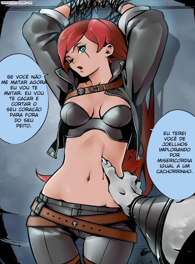 Hentai Porno League of Legends - Rengar x Katarina - Foto 4