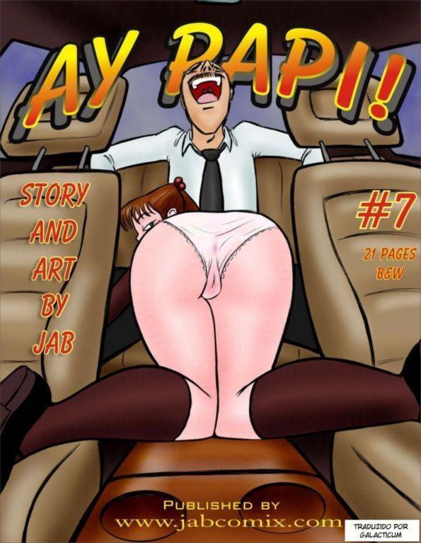 Ay Papi 7 – Quadrinhos eroticos de incesto