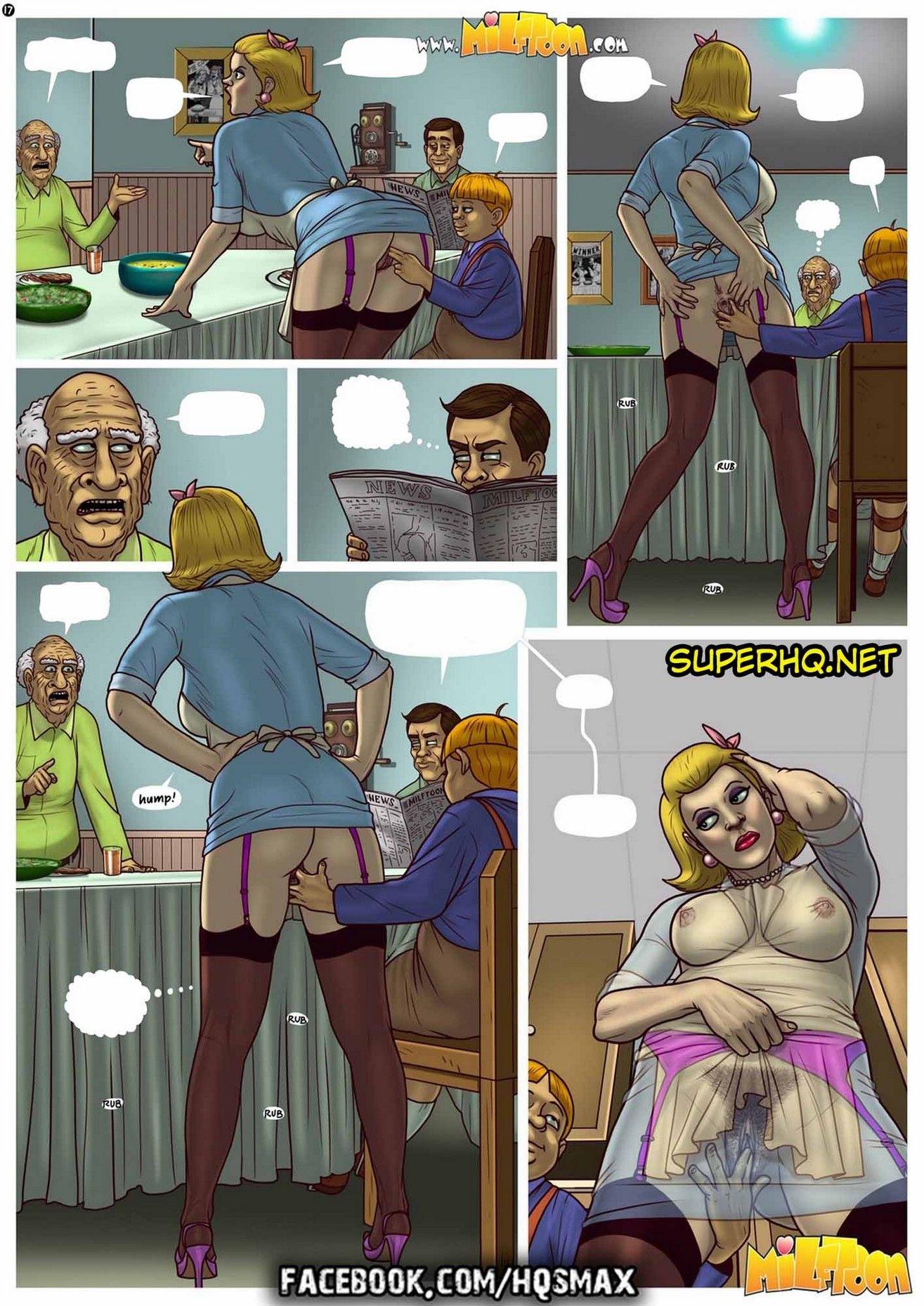 Quadrinho porno Milftoon - Mr Dickles