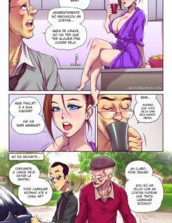 A nora safadinha 1 - Quadrinhos Eróticos - Foto 3
