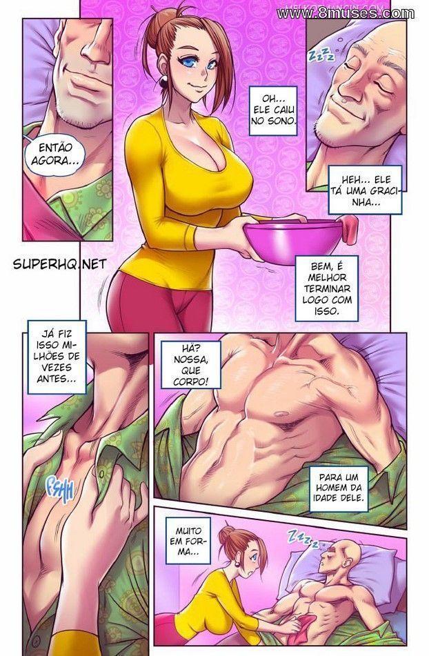 A nora safadinha 1 - Quadrinhos Eróticos