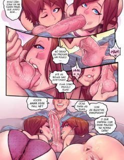 A nora safadinha 3 – Quadrinhos Eróticos - Foto 15