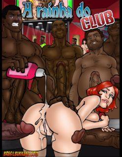 A rainha do club – Quadrinho porno