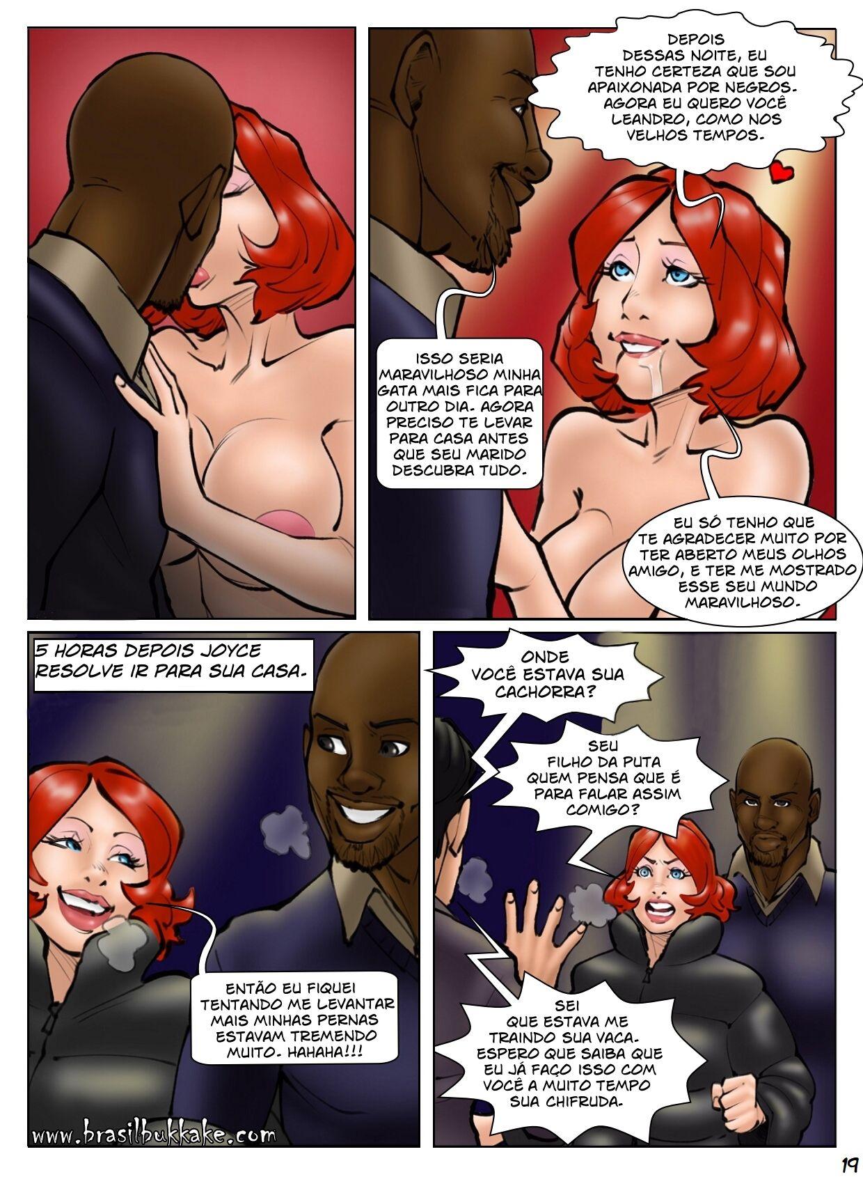 A rainha do club - Quadrinho porno