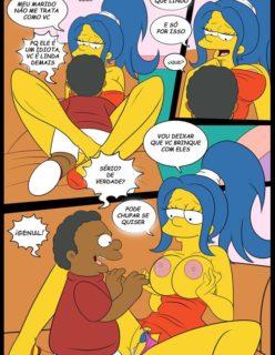 Os Simpsons porno Lisa e marge sendo fodidas por menino - Foto 17