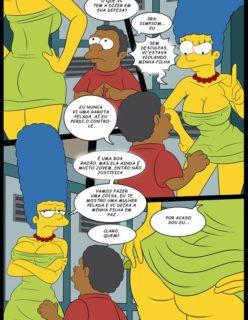 Os Simpsons porno Lisa e marge sendo fodidas por menino - Foto 5