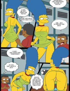Os Simpsons porno Lisa e marge sendo fodidas por menino - Foto 6