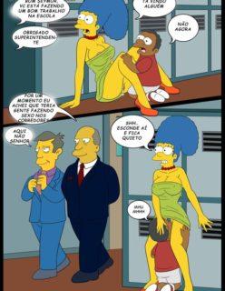 Os Simpsons porno Lisa e marge sendo fodidas por menino - Foto 9