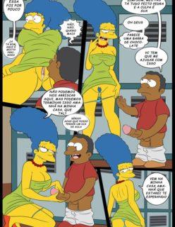 Os Simpsons porno Lisa e marge sendo fodidas por menino - Foto 10