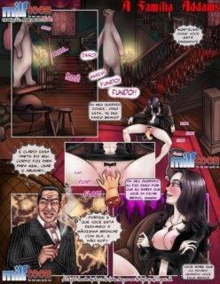 Quadrinho Erotico Milftoon A Família Addams