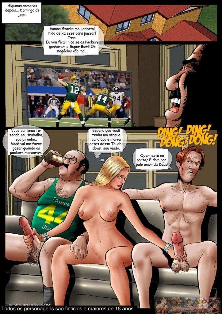 Quadrinhos eroticos - Família Business – Coisas de família