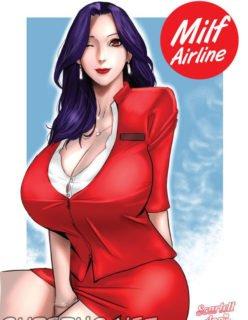 Quadrinho erótico Milf Airline