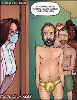 Doutora Safada - Quadrinho erotico - Foto 11