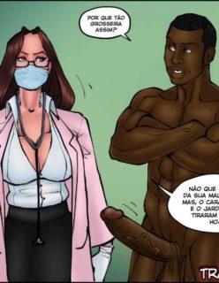 Doutora Safada - Quadrinho erotico - Foto 42