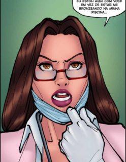 Doutora Safada - Quadrinho erotico - Foto 43