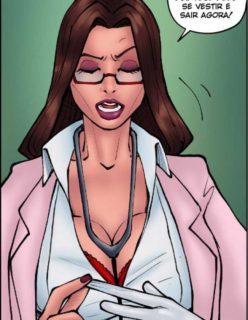 Doutora Safada - Quadrinho erotico - Foto 44