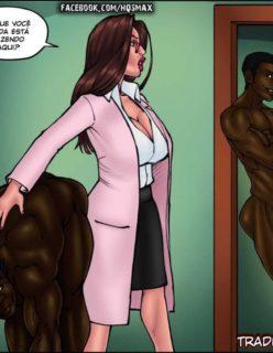 Doutora Safada - Quadrinho erotico - Foto 49