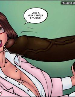 Doutora Safada - Quadrinho erotico - Foto 52
