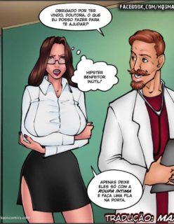 Doutora Safada - Quadrinho erotico - Foto 8