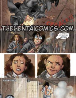 Quadrinho Porno The Harry Potter Experiment - Foto 1